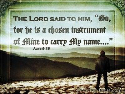 7 Bible Verses About Chosen Instruments
