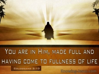 33 Bible verses about Fulness