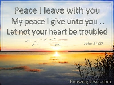 60 Bible verses about Peace