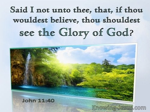 77 Bible verses about God, Glory Of