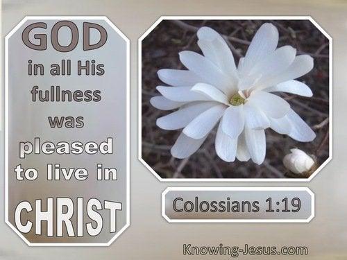 10 Bible verses about God's Fullness
