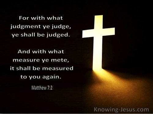 bible verses about judgement