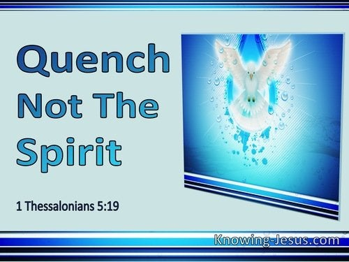 17 Bible verses about Resisting Holy Spirit