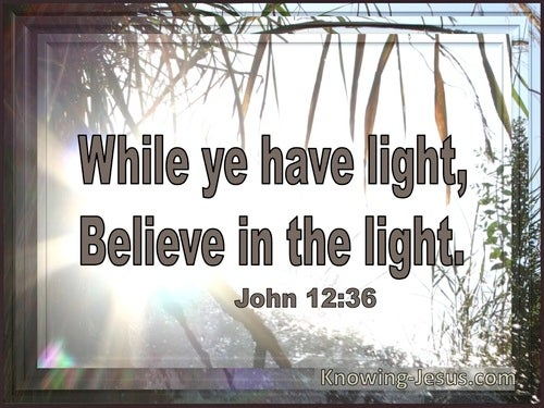 19 Bible verses about The Light Of Christ