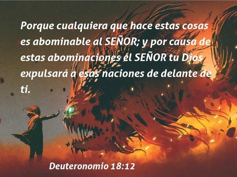 84 Bible Verses About Abominaciones